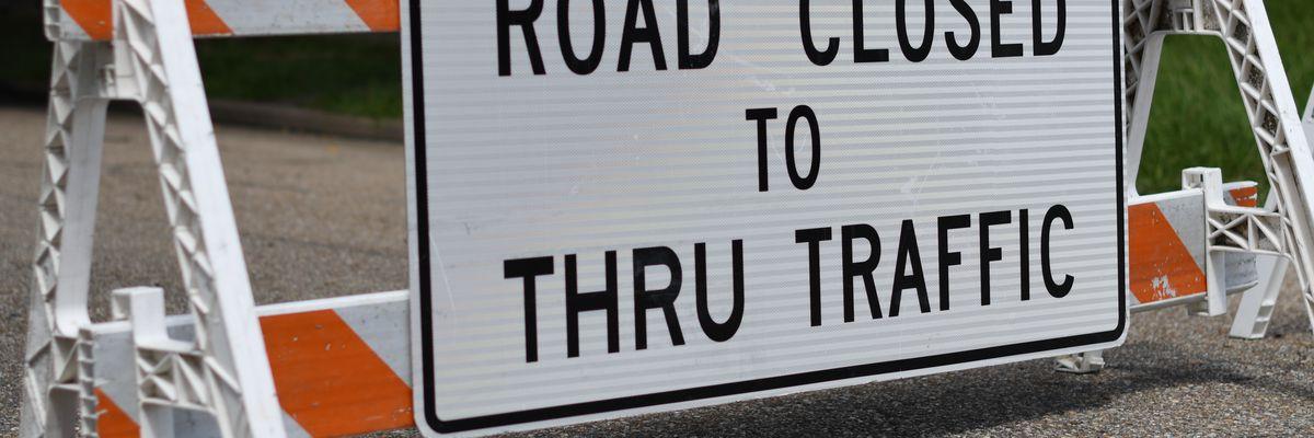 FIRST ALERT TRAFFIC: Road Closures/Lane Shifts