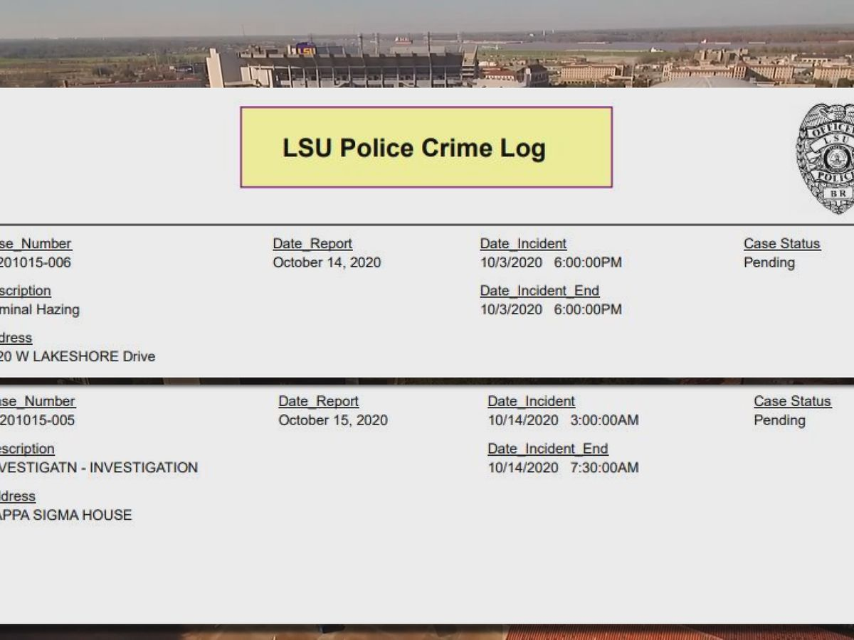 THE INVESTIGATORS: Two new investigations involving LSU greek organizations pending while unrelated hazing probes open against other fraternity