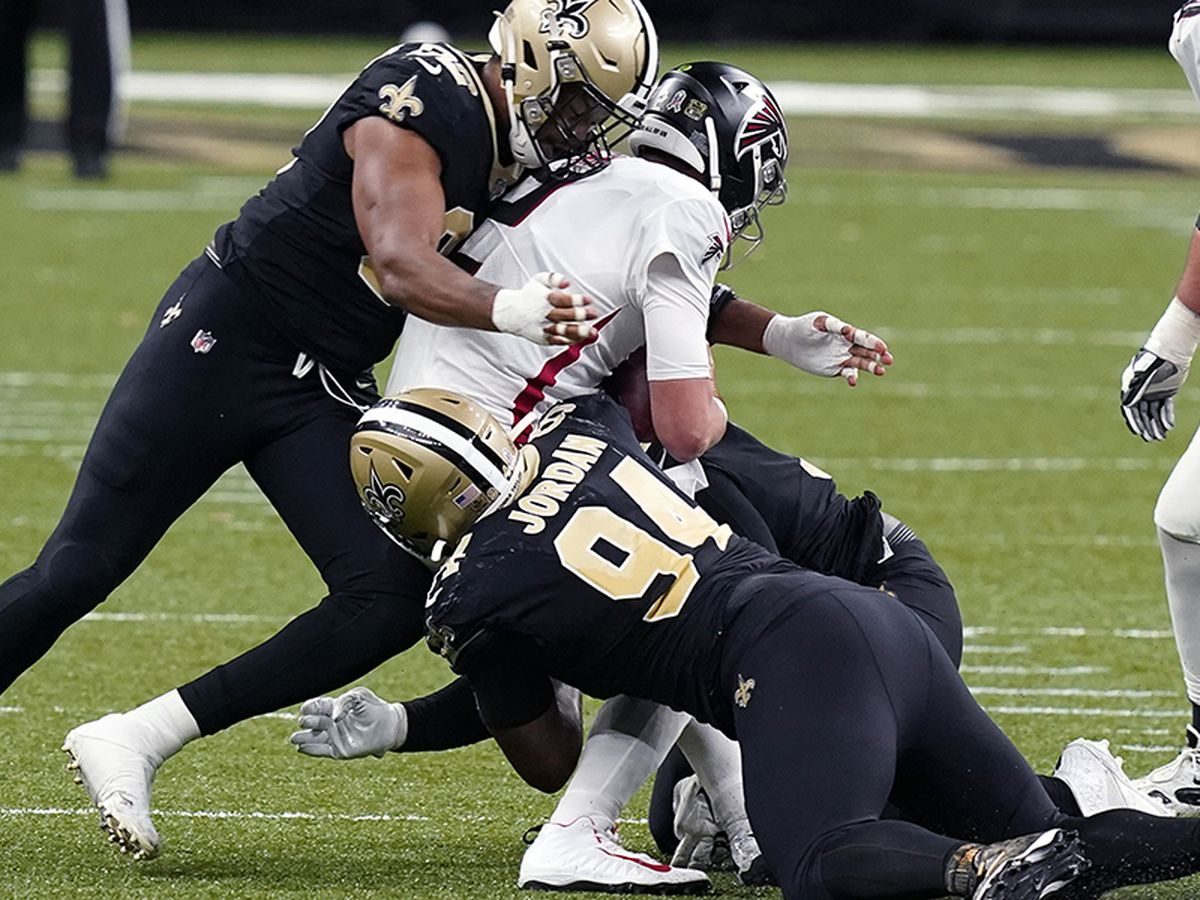 Saints defense dominates in 24-9 win over Falcons