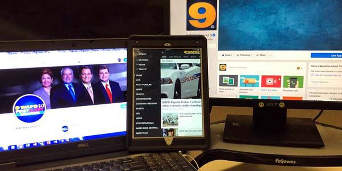 From social media to push alerts, customize your content from WAFB