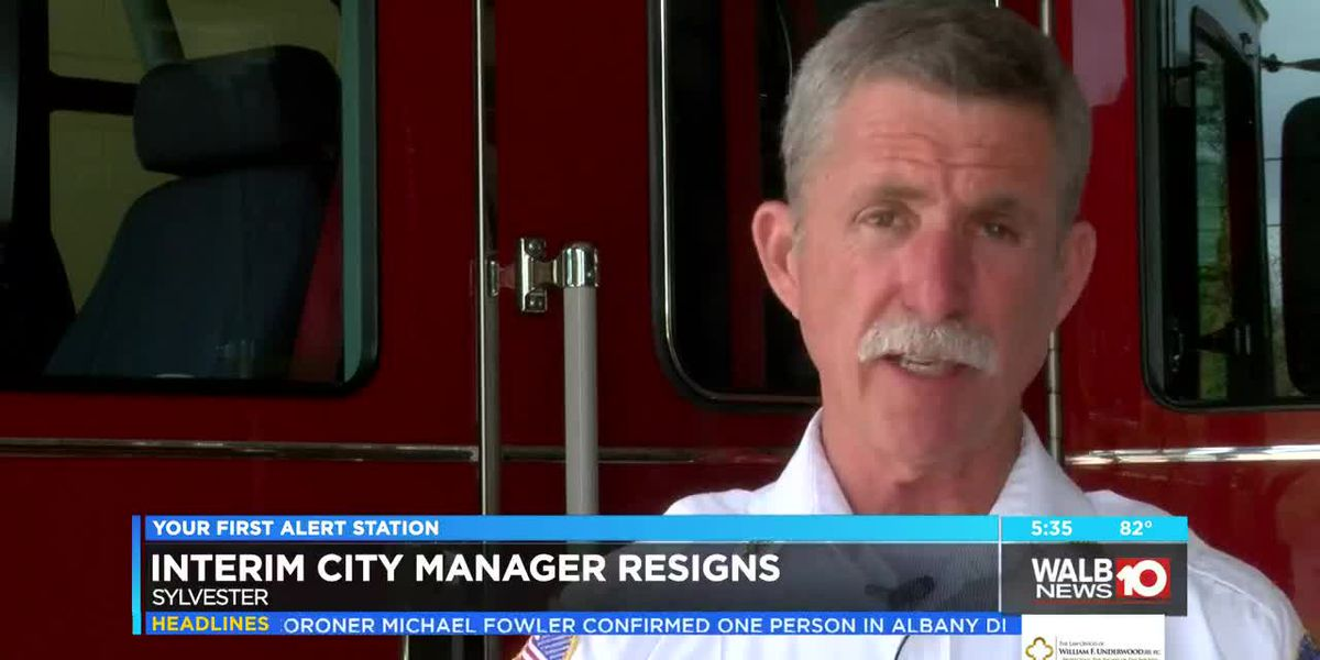 Sylvester Interim city manager steps down