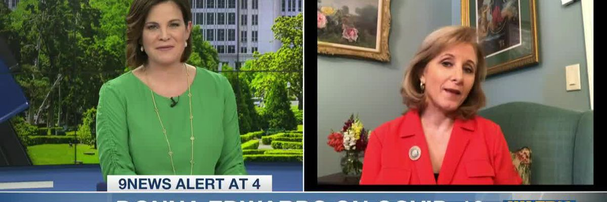 First Lady of Louisiana Donna Edwards gives advice for parents working from home and keeping kids focused