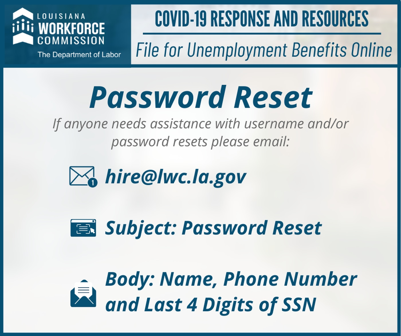 How To Apply For Unemployment In La During Covid 19 Pandemic