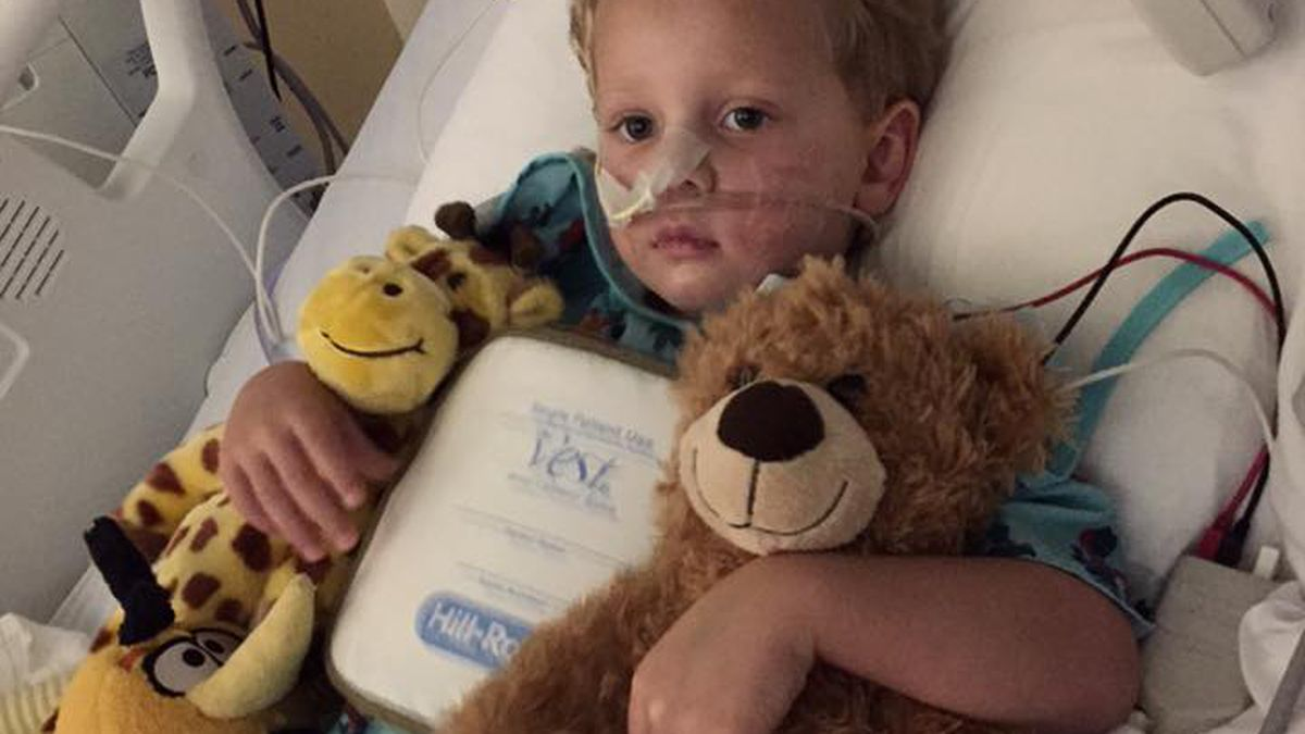 Family shares life saving efforts of staff at OLOL Children's Hospital