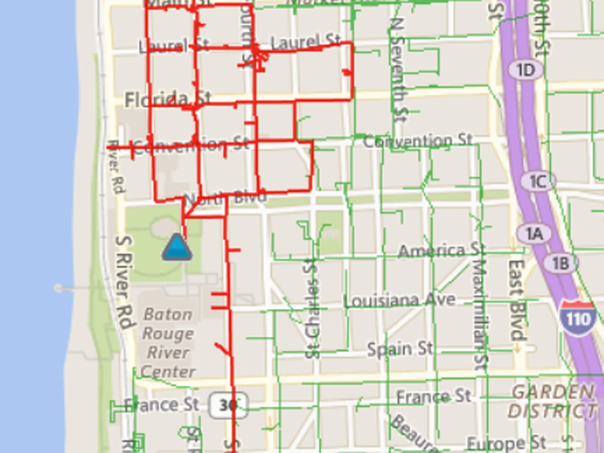Power outage in downtown Baton Rouge closes businesses, government offices