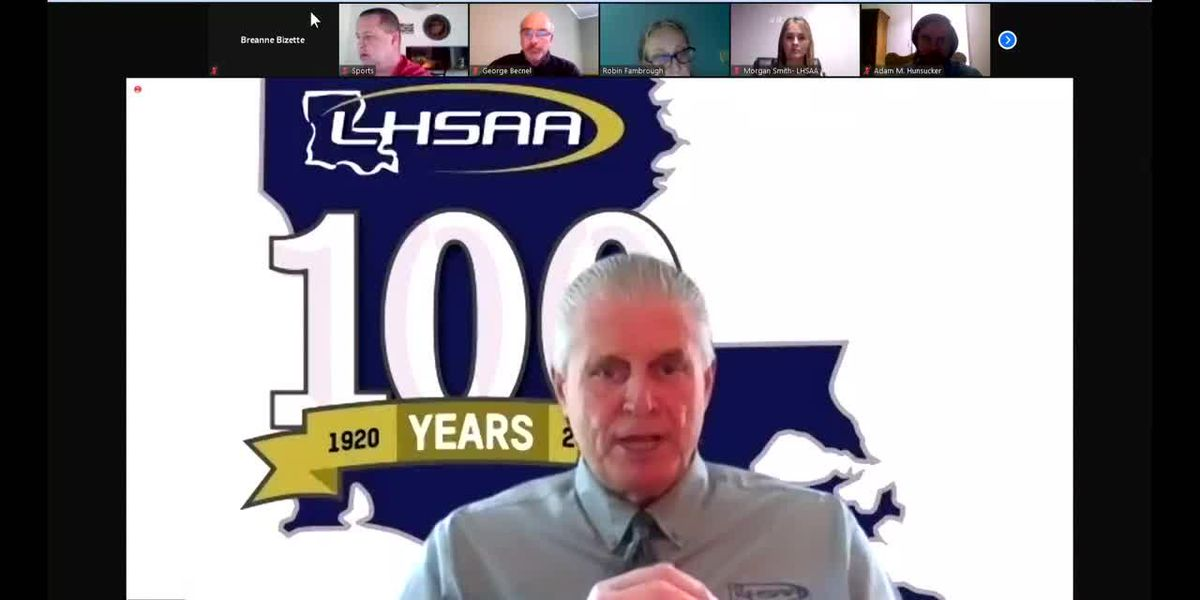 LHSAA Executive Director Eddie Bonine discusses start of high school football being delayed until Oct. 8, 2020