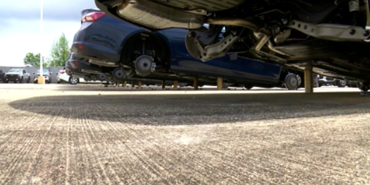 1 arrested, 1 wanted in major Slidell car dealership tire theft