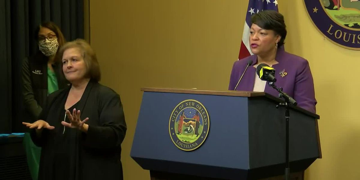 Mayor Cantrell tested positive, then negative for COVID-19 in D.C.