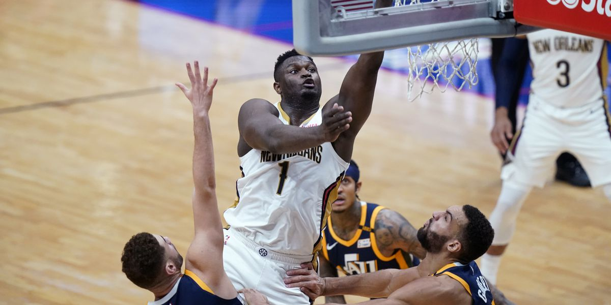 Zion, Pelicans hold off NBA-leading Jazz 129-124