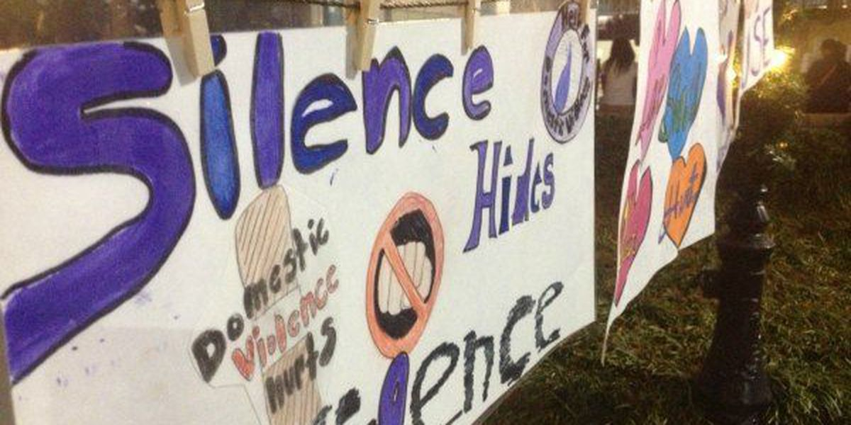 Residents, victims take stand against domestic violence