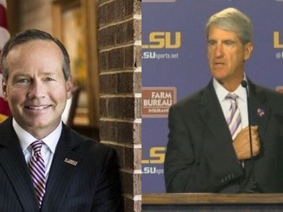 Former head of La. higher education calls for removal of top-ranking LSU officials