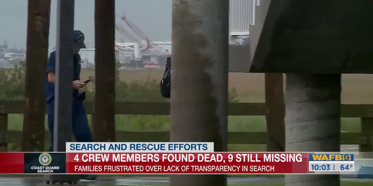 Latest on Coast Guard Search