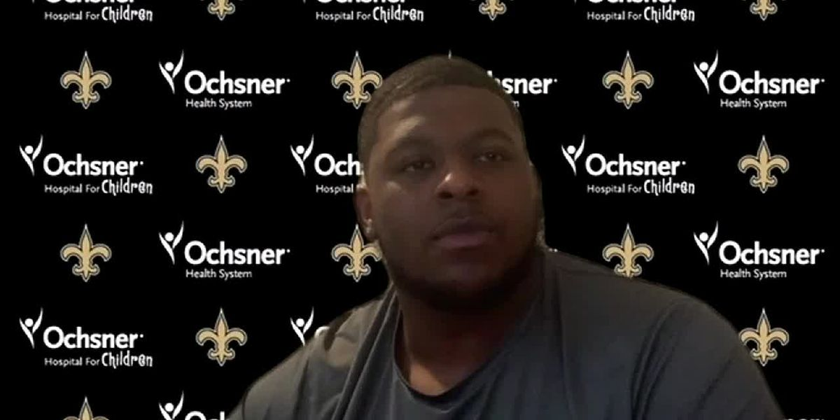 Cesar Ruiz shares his thoughts on being a member of the New Orleans Saints