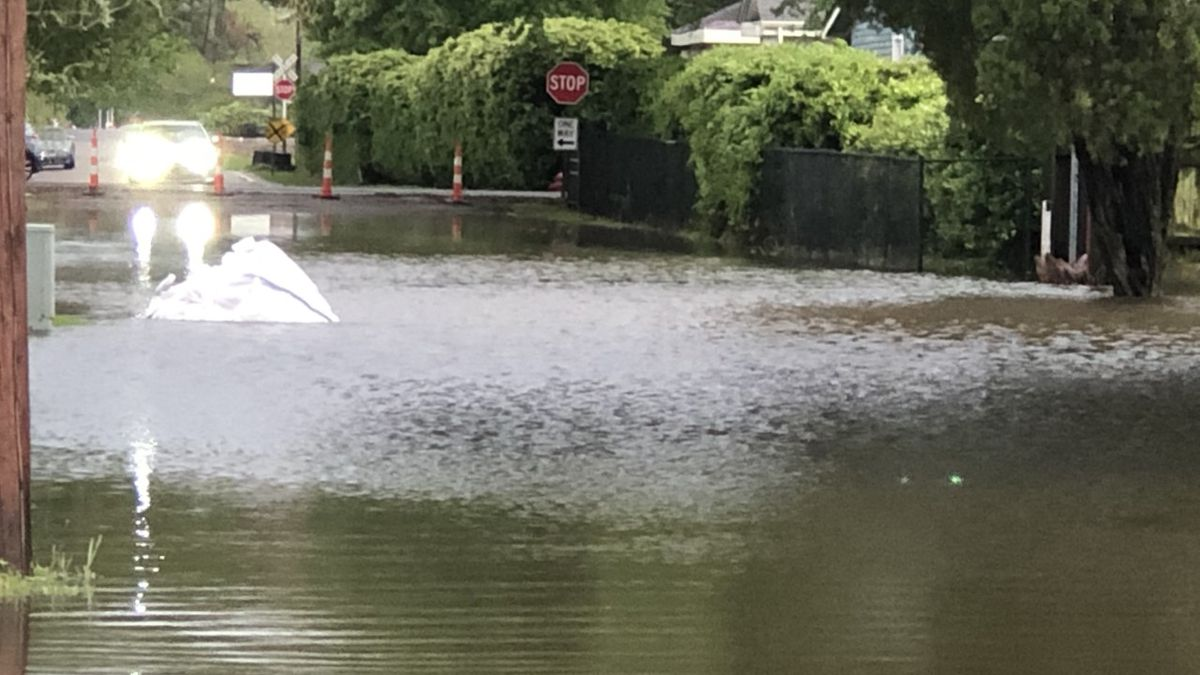 Streets in Plaquemine see high water after Tuesday's rain event