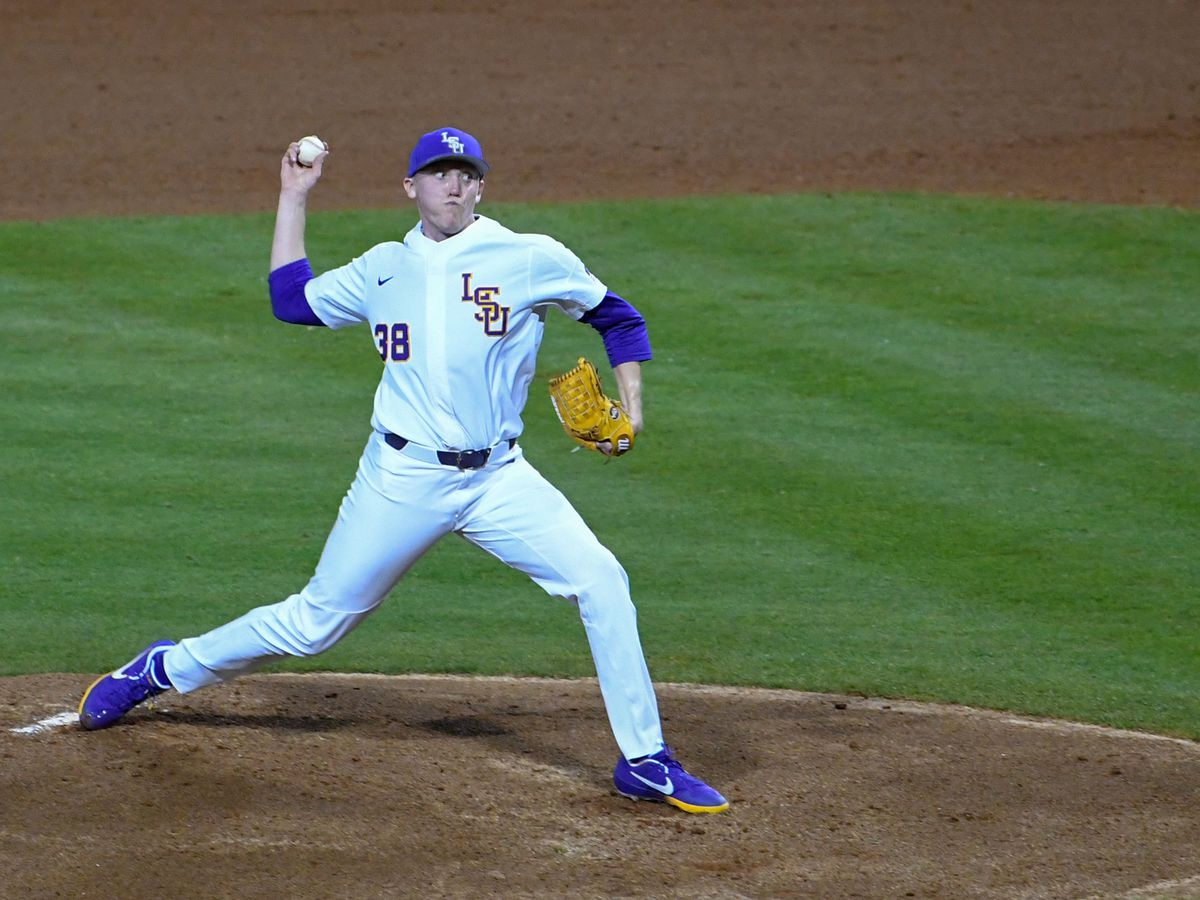 No. 7 LSU baseball holds No. 5 Georgia scoreless in Game 1