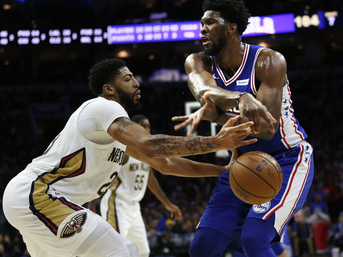 Embiid, 76ers top Pelicans after Davis' missed free throw