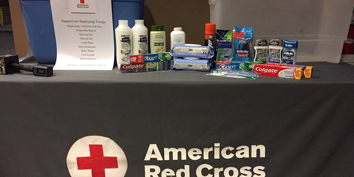 Toiletry donations quickly needed for deploying troops