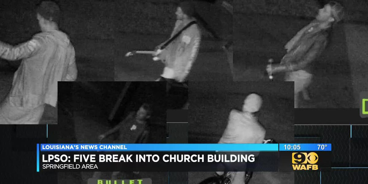 LPSO: Five break into church building