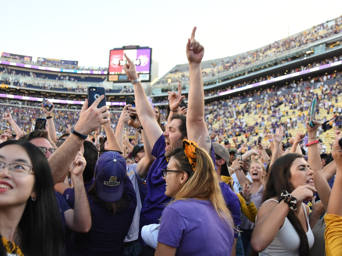 Congressman Garret Graves starts GoFundMe to pay LSU's fine for fans storming the field