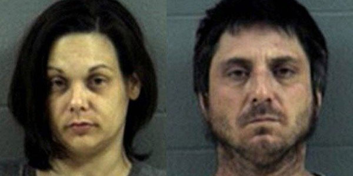 Husband, wife arrested for transporting meth lab items in vehicle