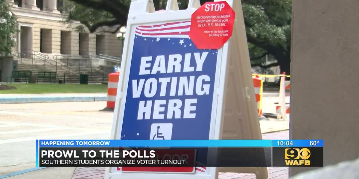 SU holding voter rally, free rides to the polls for early voting