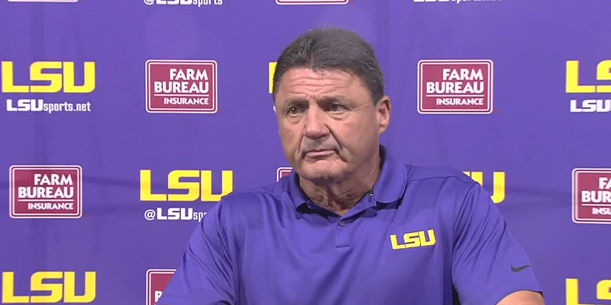 PREVIEW: Ed Orgeron