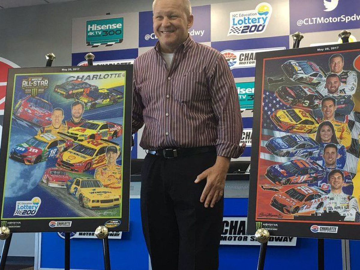 Legendary NASCAR artist, Sam Bass, dies at 57