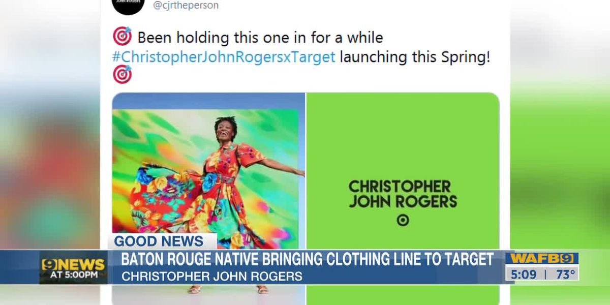 Clothing designed by Christopher John Rogers coming soon to Target stores