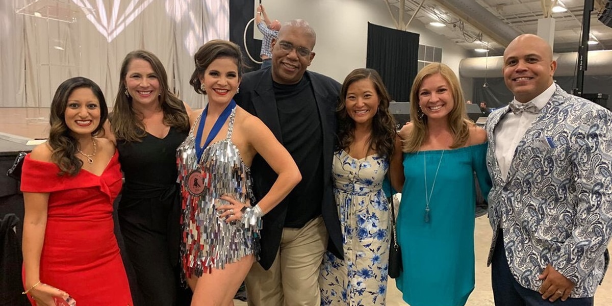 WAFB's Elizabeth Vowell shines at 2019 Dancing for a Cause event