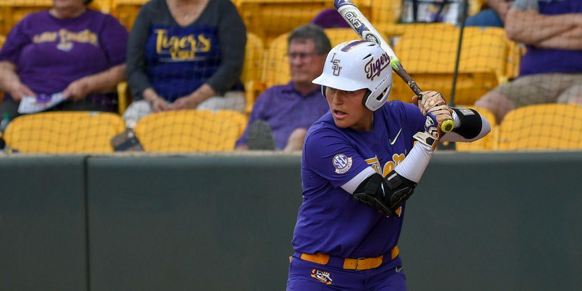 No. 9 LSU softball run-rules Troy in 5 innings