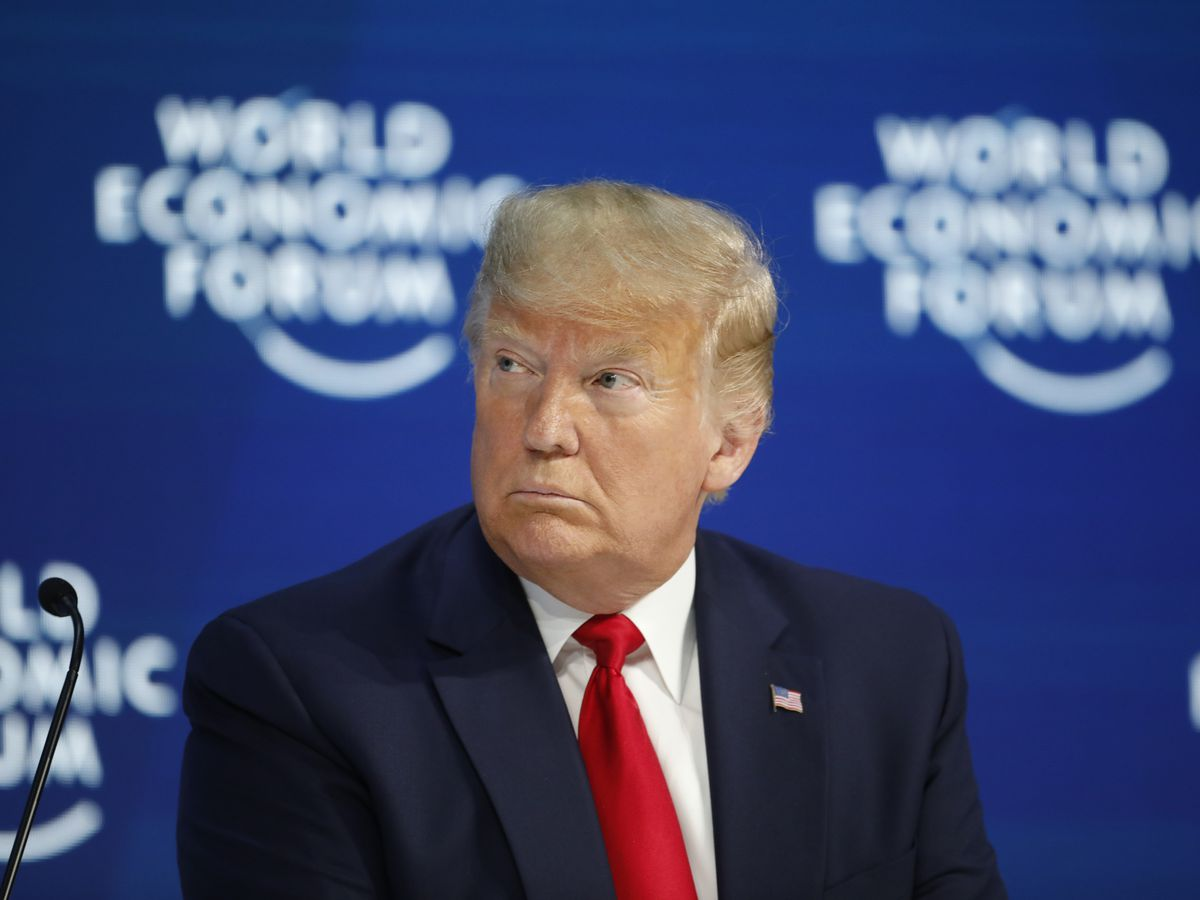 Trump lauds US economy in Davos, says little on climate woes