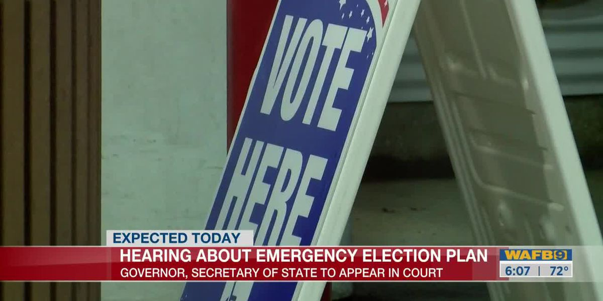 Representatives for Gov. Edwards, Sec. of State Ardoin to appear in federal court for hearing on state's election plan