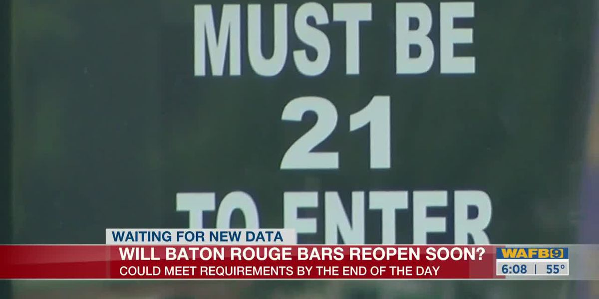 Decision expected Wednesday whether EBR can reopen bars