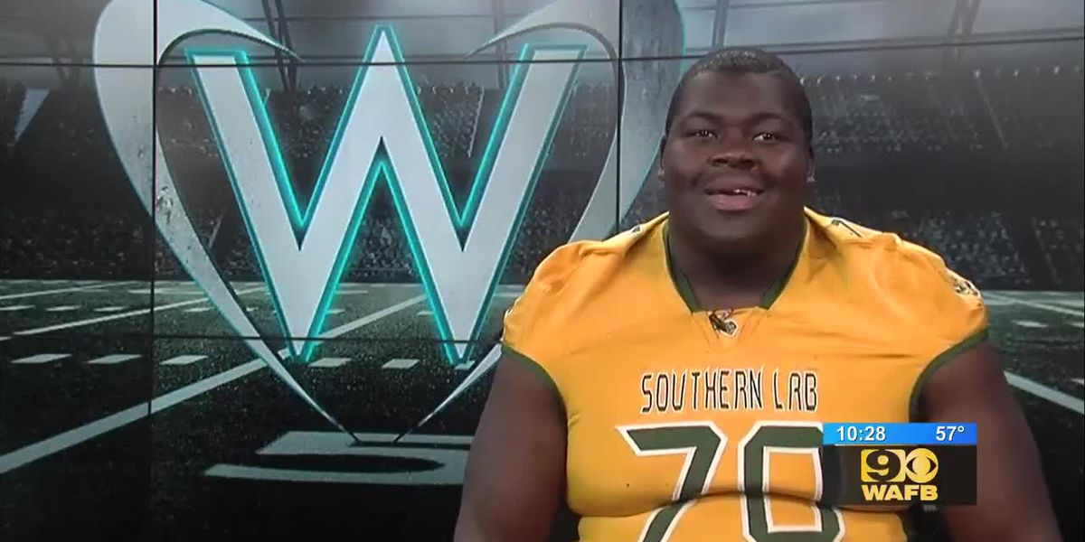 Southern Lab's Kardell Thomas - Warrick Dunn Player of the Year Nominee