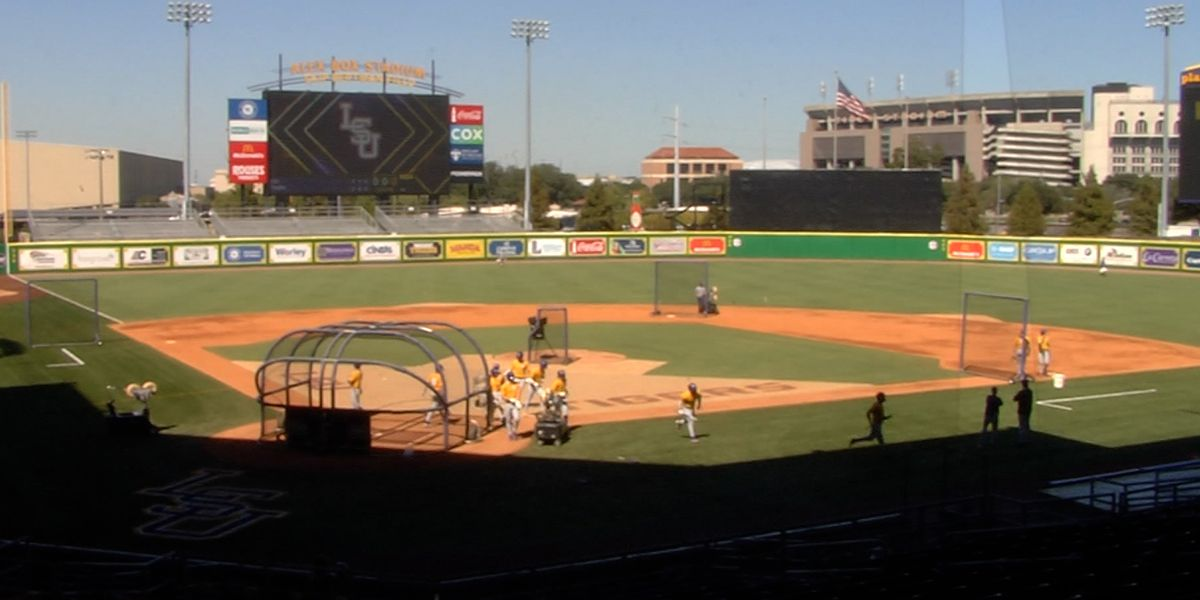 LSU-Nicholls baseball game postponed; Tigers set to play DH on Wednesday