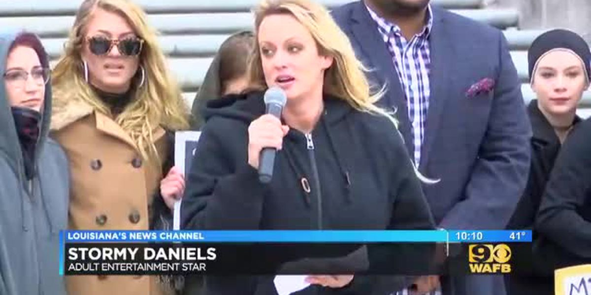Stormy Daniels leads local protest against Louisiana age restrictions for adult entertainers