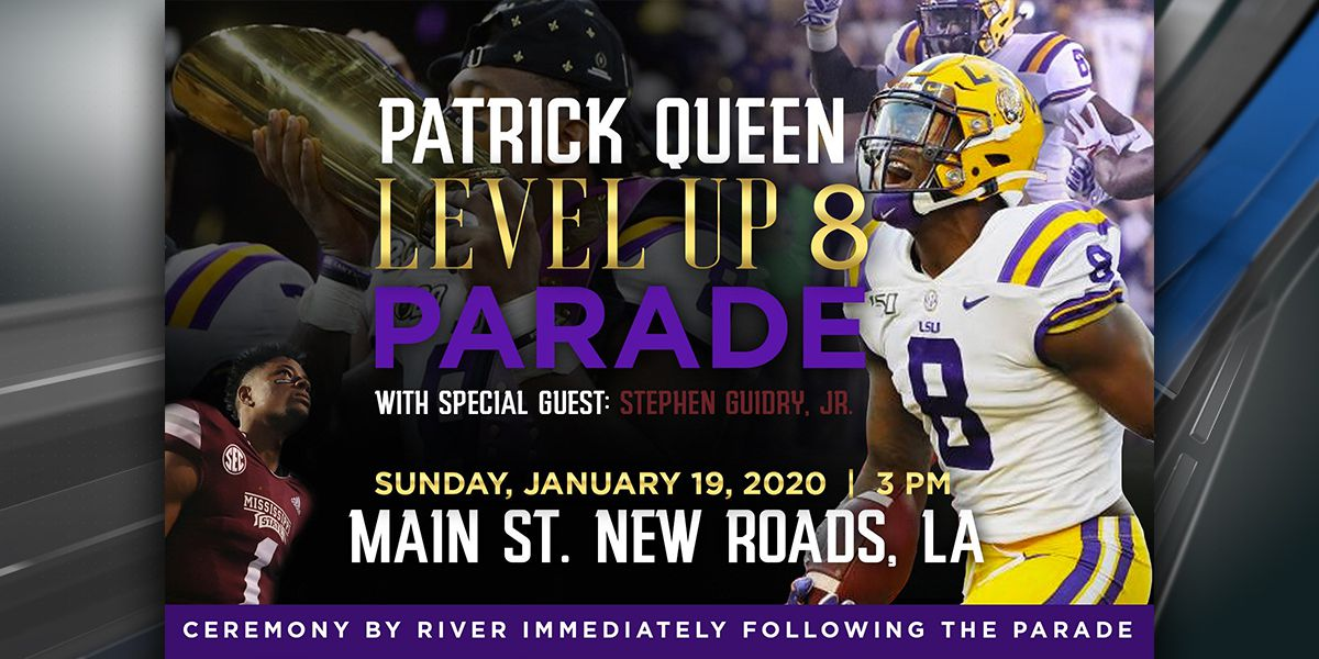 New Roads to hold special parade for LSU's Patrick Queen