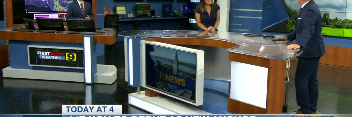 Liz Koh talks about her upcoming first day on 9News at 4