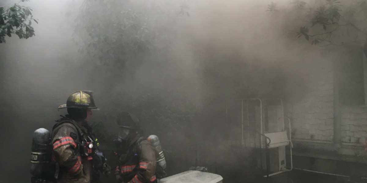 Massive 6-alarm fire engulfs historic Garden District home