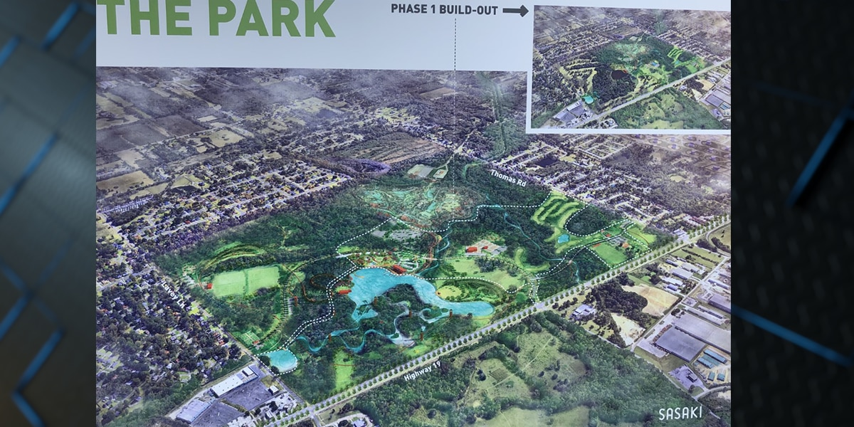 Leaders unveil master plan for BREC's Baton Rouge Zoo and the Greenwood Community Park