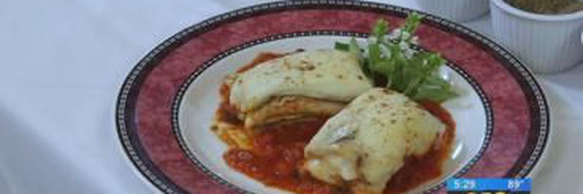 Stirrin' It Up: Grilled Vegetable Lasagna with Ricotta-Tomato Sauce (July 10, 2018)