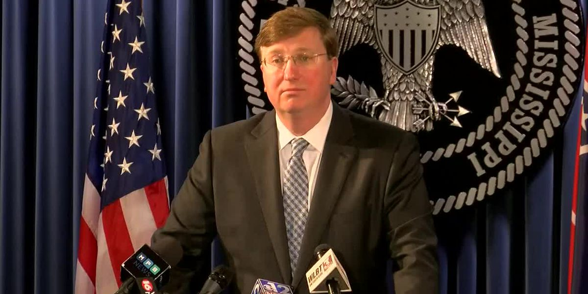 Miss. Governor issues statewide 'shelter-in-place' order