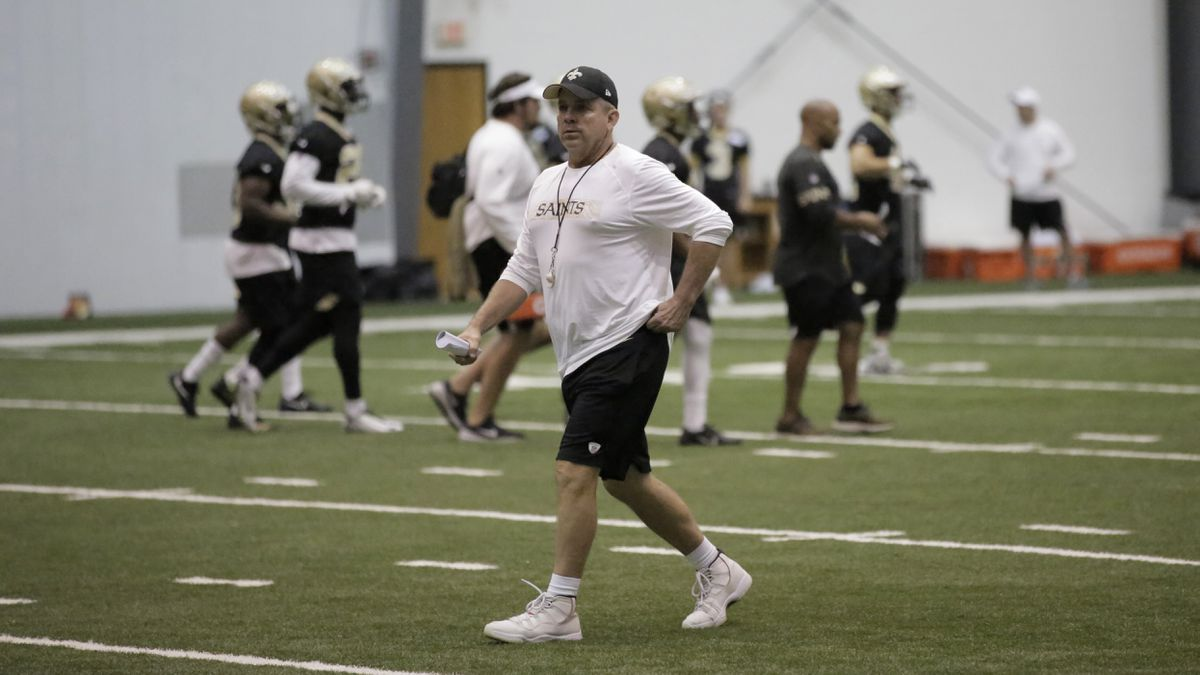 Saints making the most of offseason changes due to Coronavirus