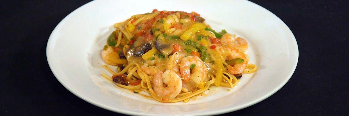 Tuscan Shrimp Pasta