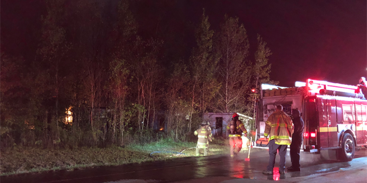 Crews battle Plank Road trailer fire