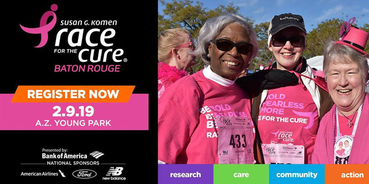 Hundreds of runners wear pink for 2019 Baton Rouge Race for the Cure