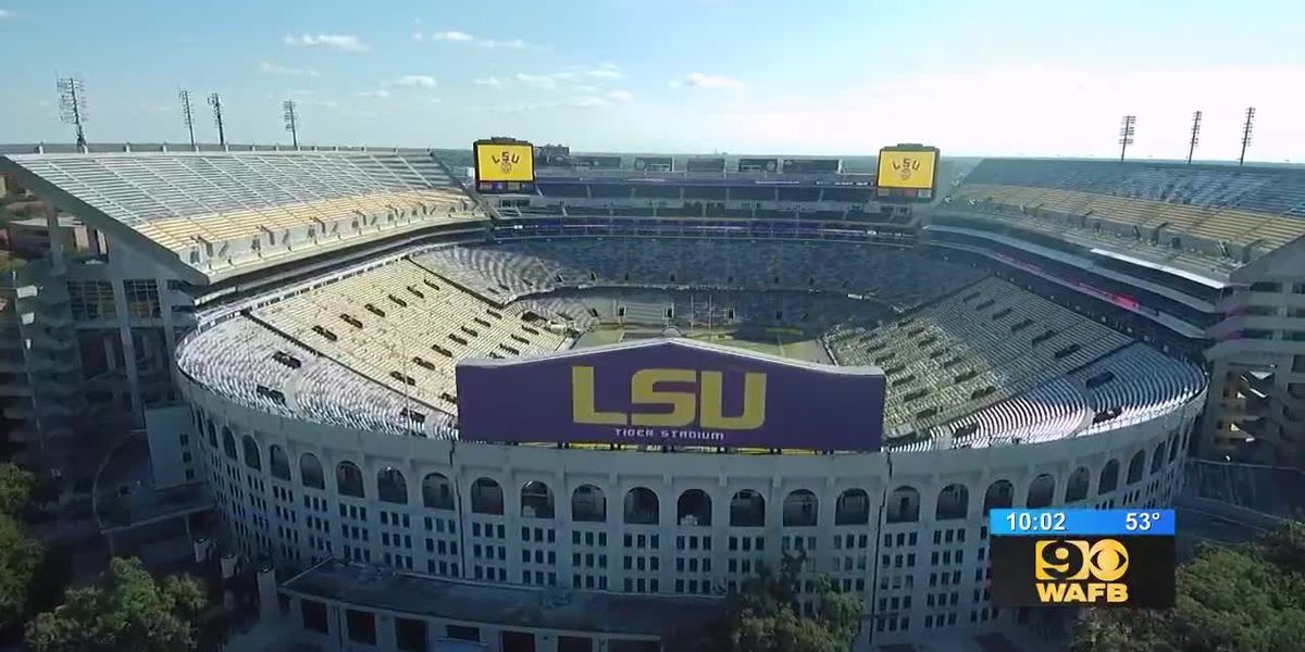 LSU fans flock to campus following last home game