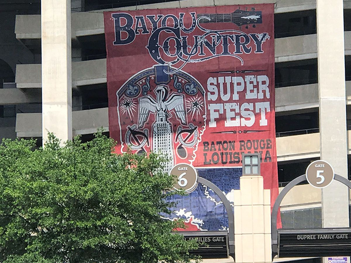 Bayou Country Superfest brings joy to fans and local businesses