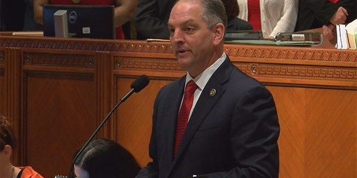 Gov. Edwards begins special session calling on lawmakers to fix fiscal crisis