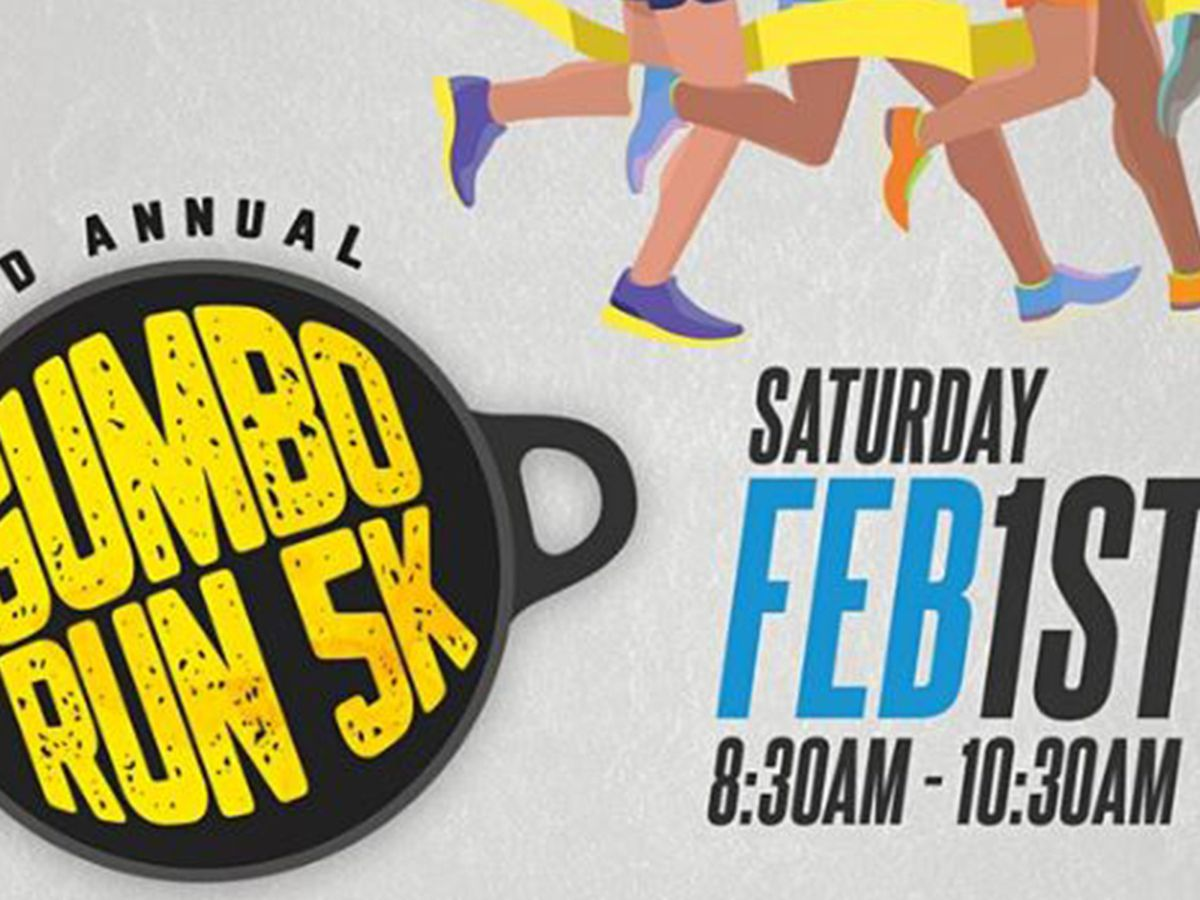 2nd Annual Gumbo Run scheduled for Feb. 1